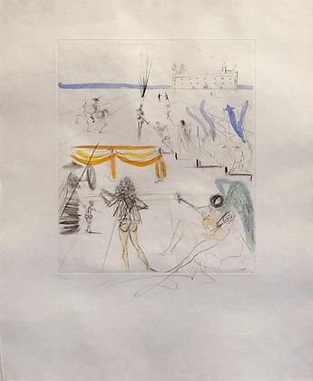 Salvador Dalí - Santiago of Compostella