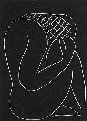 Henri Matisse - ...Tenebres de moi-meme, je m'abandonne a vous...