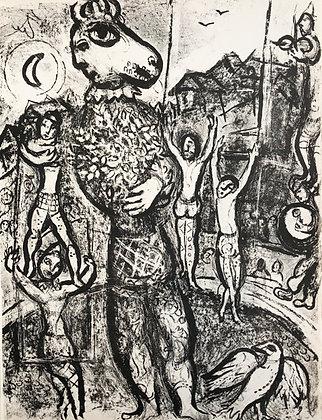 Marc Chagall - Le Cirque M. 497