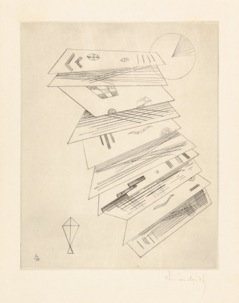 Wassily Kandinsky - Zweite Radierung fur Editions Cahiers