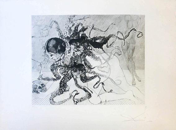 Salvador Dalí - Medusa