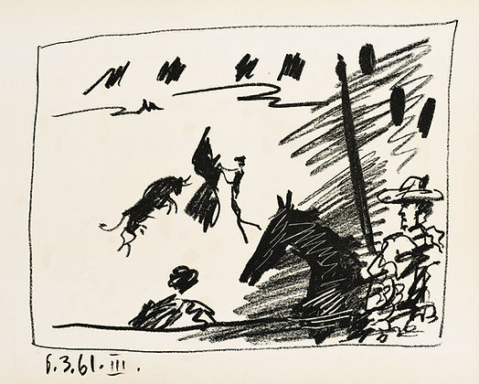 Pablo Picasso - Pass with the Cape