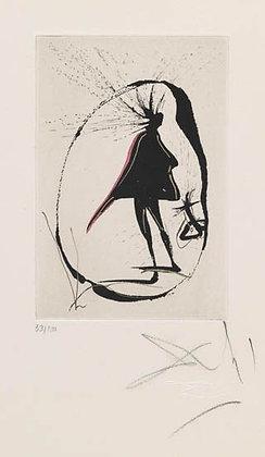 Salvador Dalí - Magic Circle - Faust Vignettes series