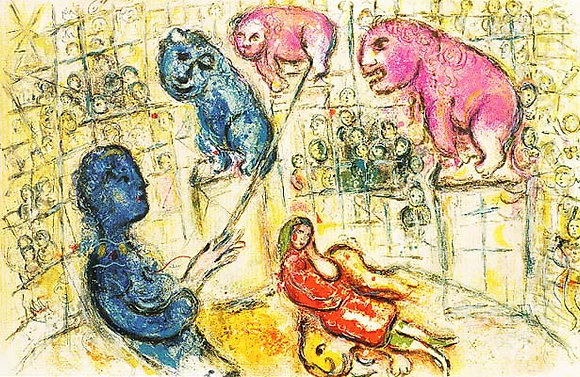 Marc Chagall - Le Cirque M. 506