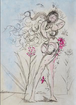 Salvador Dalí - Petit Nu Apollinaire 3