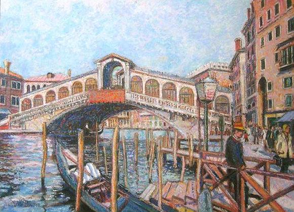 H. Claude Pissarro - Stazio Gondole