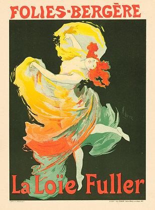 Jules Chéret - Folies-Bergère, La Loïe Fuller