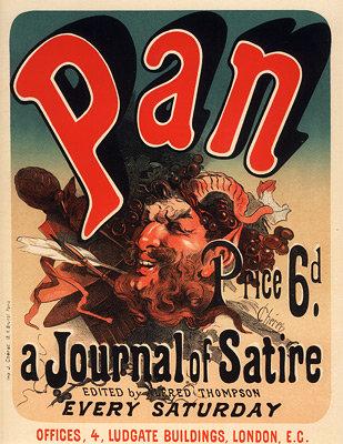 Jules Chéret - Pan