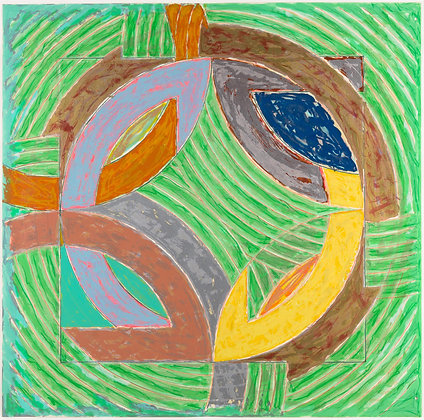 Frank Stella - Polar Co-ordinates IV