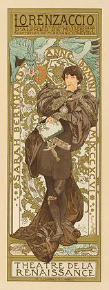 Alphonse Mucha - Lorenzaccio