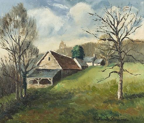 Paulémile Pissarro - LA SERVERIE DE ST. RÉMY CALVADOS