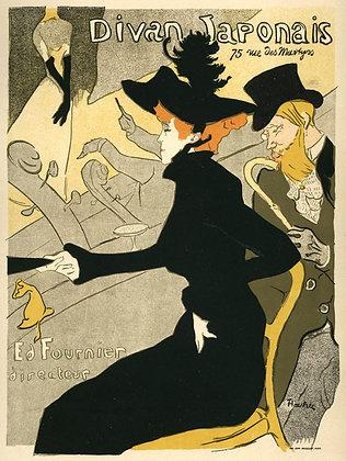 Henri Toulouse-Lautrec - Divan Japonais