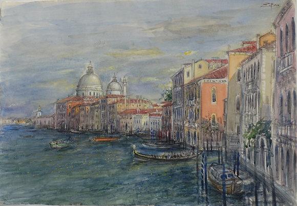 Bruno Zupan - Grand Canal, Venice