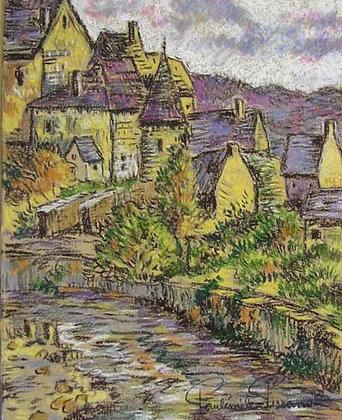 Paulémile Pissarro - Le Village de Clecy