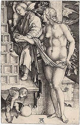 Albrecht Dürer - The Dream of the Doctor (The Temptation of the Idler)