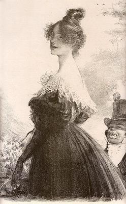 Charles Leandre - Mimi Pinson
