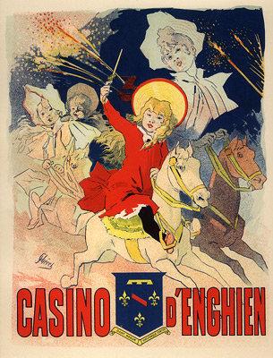 Jules Chéret - Casino d'Enghien