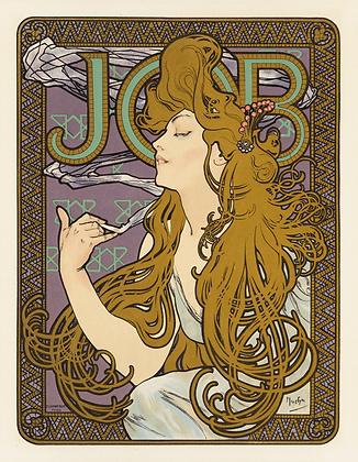 Alphonse Mucha - Job