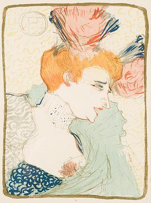 Henri Toulouse-Lautrec - MADEMOISELLE MARCELLE LENDER, EN BUSTE