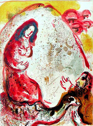 Marc Chagall - Rachel Hides her Father's Household Goods
