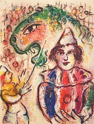 Marc Chagall - Le Cirque M. 504