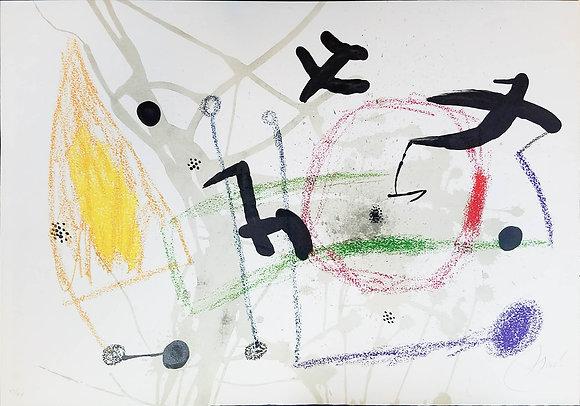Joan Miró - UNTITLED from Maravillas