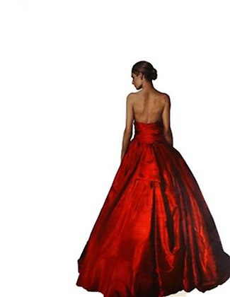 Thomas Leveritt - Untitled (Red Dress)