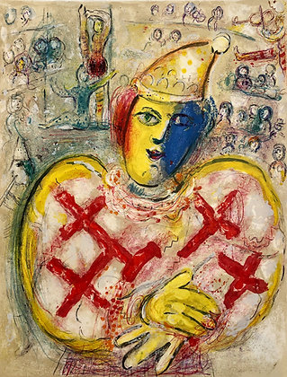 Marc Chagall - Le Cirque M. 499