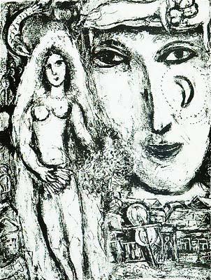 Marc Chagall - Le Cirque M. 507