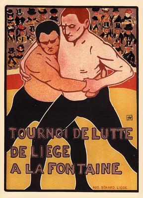 Armand Rassenfosse - Tournoi de Lutte
