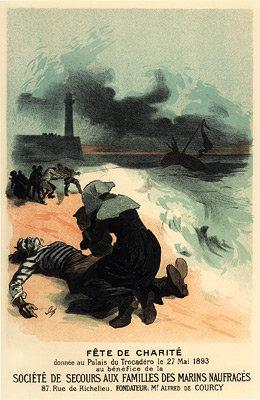 Jules Chéret - Fête de Charité