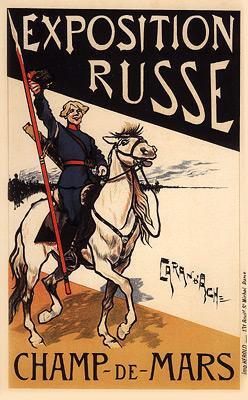 Caron D'Ache - Exposition Russe