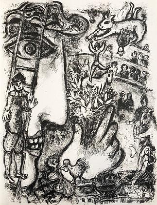 Marc Chagall - Le Cirque M. 503