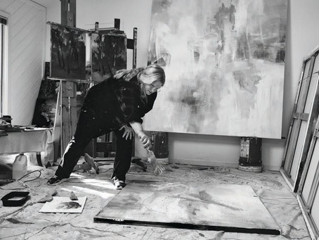 Artist Kathy Buist Interviewed in Hamptons Magazine