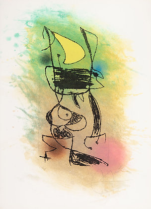 Joan Miró - The Cricket under the Moon