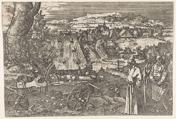 Albrecht Dürer - Landscape with Cannon (The Great Cannon)