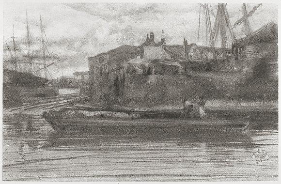 James Abbott McNeill Whistler - Limehouse