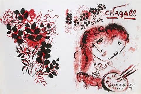 Marc Chagall - Cover  The Lithographs of Chagall Volume III