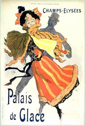 Jules Chéret - Les Palais de Glace Champs Elysées
