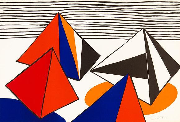 Alexander Calder - Les Pyramides Grandes