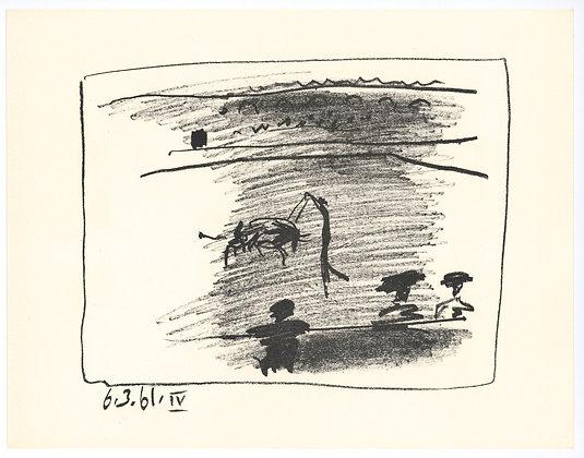 Pablo Picasso - Les Banderilles IV