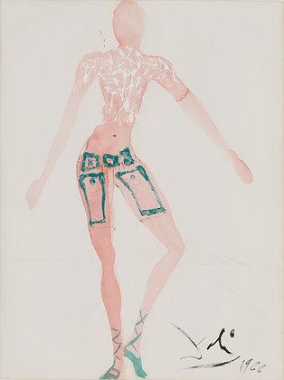 Salvador Dalí - COSTUME DE L'AN 2000, PANTALON COURT