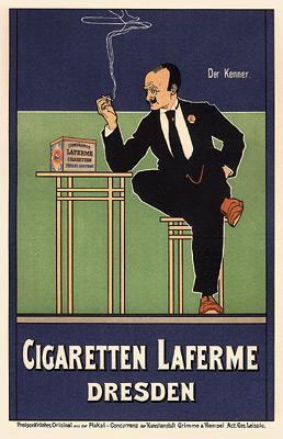 Fritz Rehm - Cigaretten Laferme