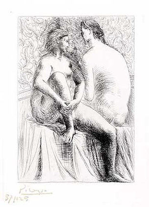 Pablo Picasso - Deux Femmes Nues