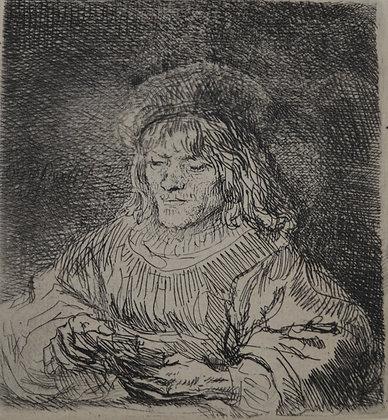 Rembrandt Harmensz Van Rijn - The Card Player