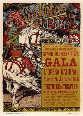 Eugene Grasset - Fête de Paris