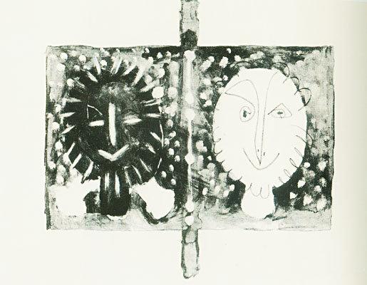 Pablo Picasso - Couverture du Tome I (double)