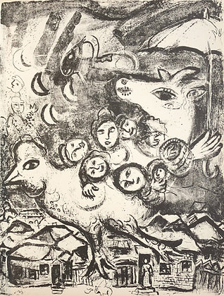 Marc Chagall - Le Cirque M. 495