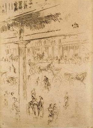 James Abbott McNeill Whistler - Regent's Quadrant
