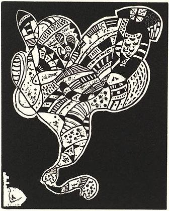 Wassily Kandinsky - Holzschnitle Fur 10 Origin